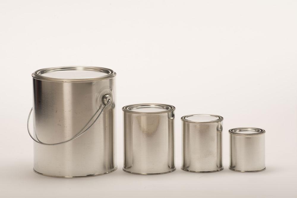 Plastic Gallon Paint Cans